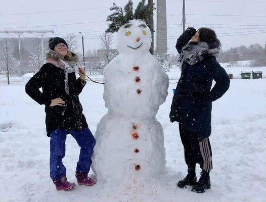 Viktorijos ir Livijos linksmasis snieguočius 185 balsai
